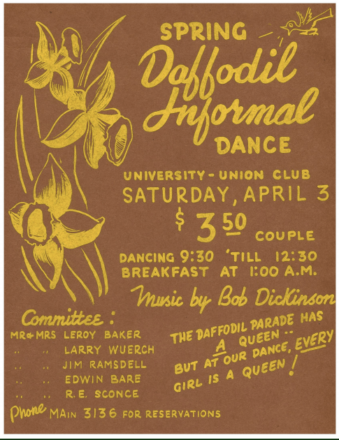 Photo of Tacoma Daffodil Parade Flyer